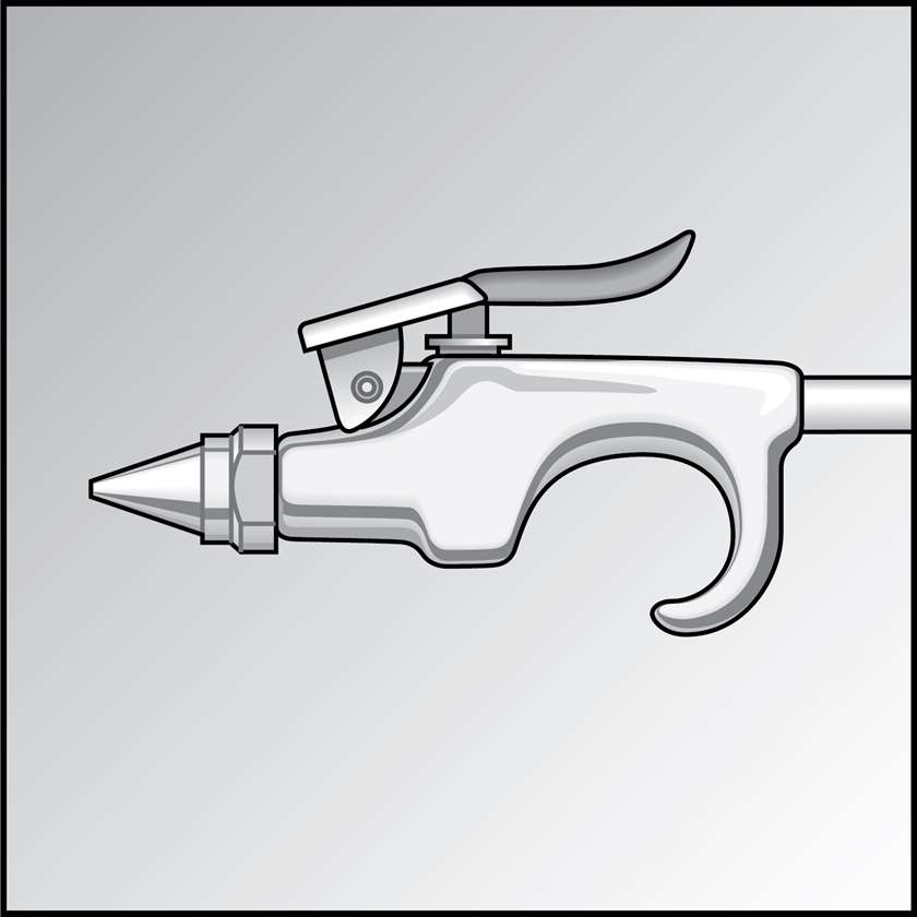 An illustration of a Air-Entraining Air Nozzles