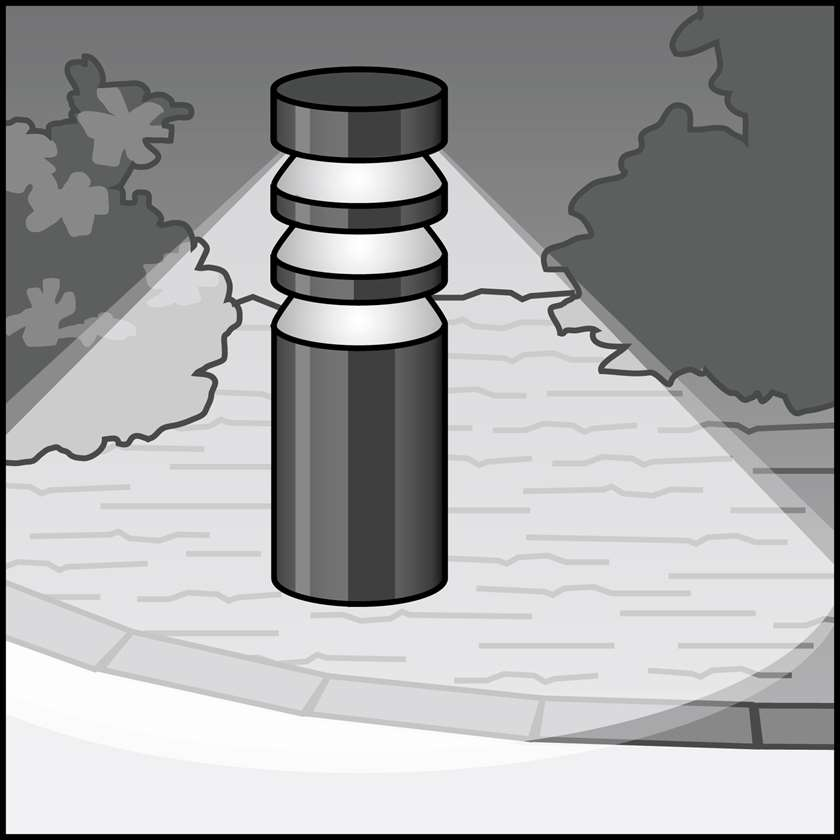 An illustration of a LED Bollard Fixtures