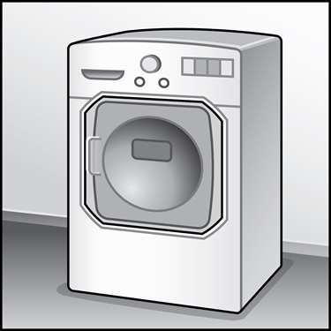 An illustration of a Clothes Dryers