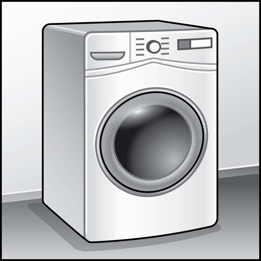 An illustration of a Clothes Washers