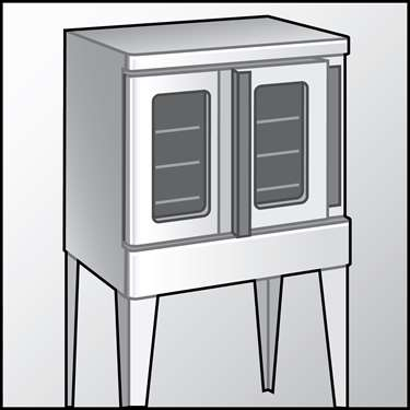 An illustration of a Commercial Ovens