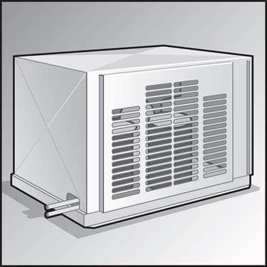 高效率冷凝单元的例证