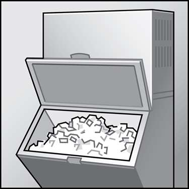 An illustration of a ENERGY STAR&reg Ice Machines