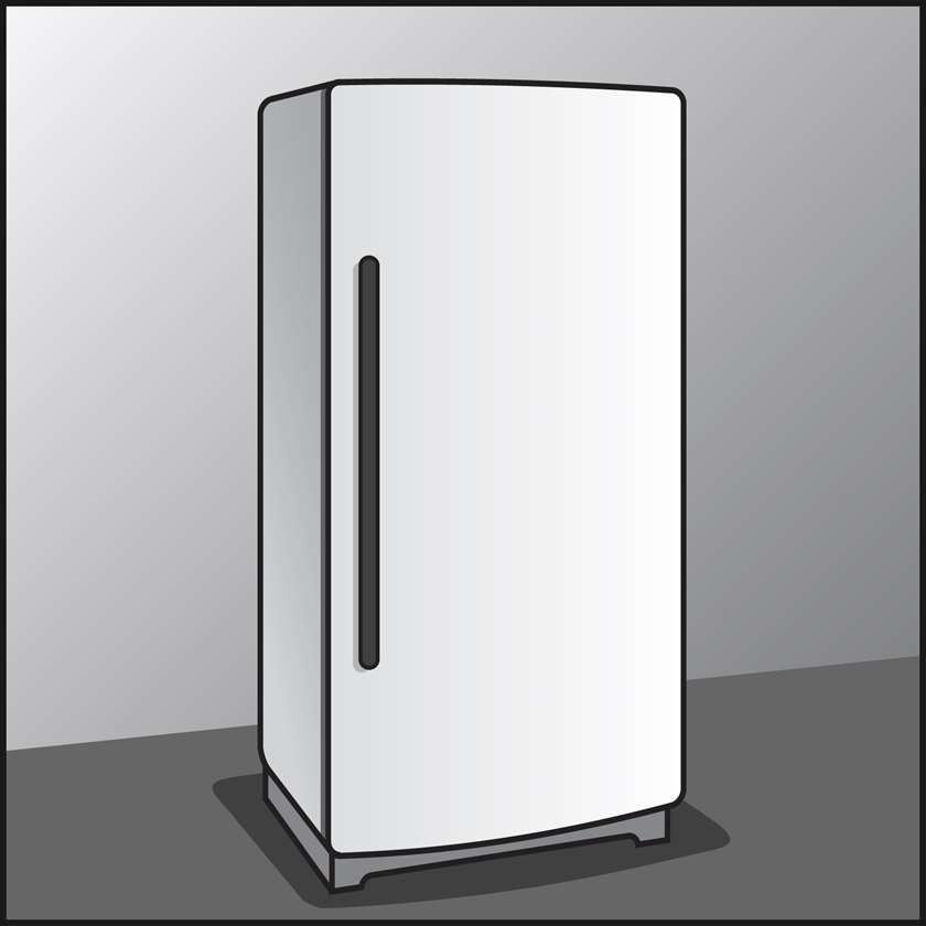 An illustration of a Freezers
