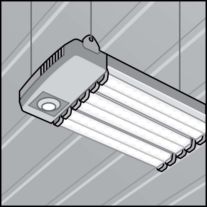 An illustration of a LED Lighting for Agricultural Use