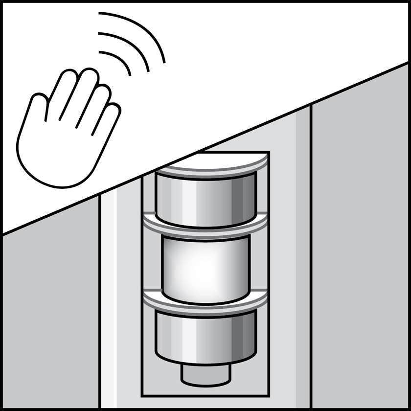 An illustration of a Switch Mounted Occupancy Sensors