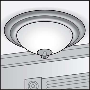 An illustration of a LED ENERGY STAR&reg Fixtures