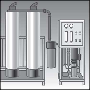 An illustration of a Maple Reverse Osmosis Systems (RO)