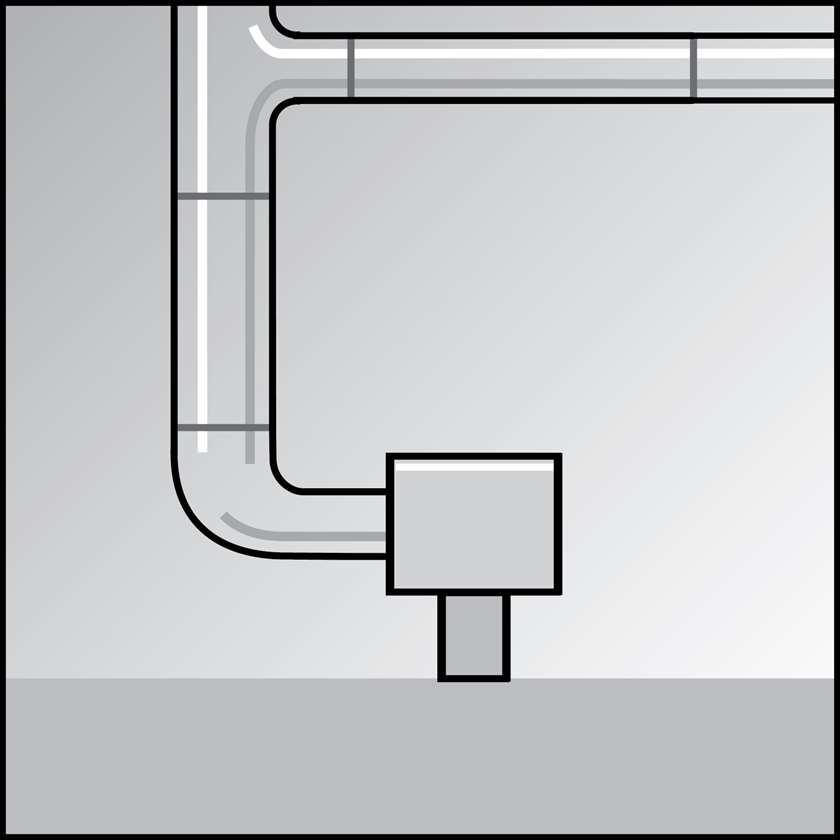 An illustration of a No-Loss Drains