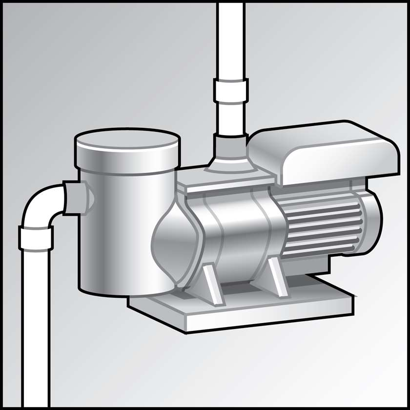 An illustration of a Pool Pumps