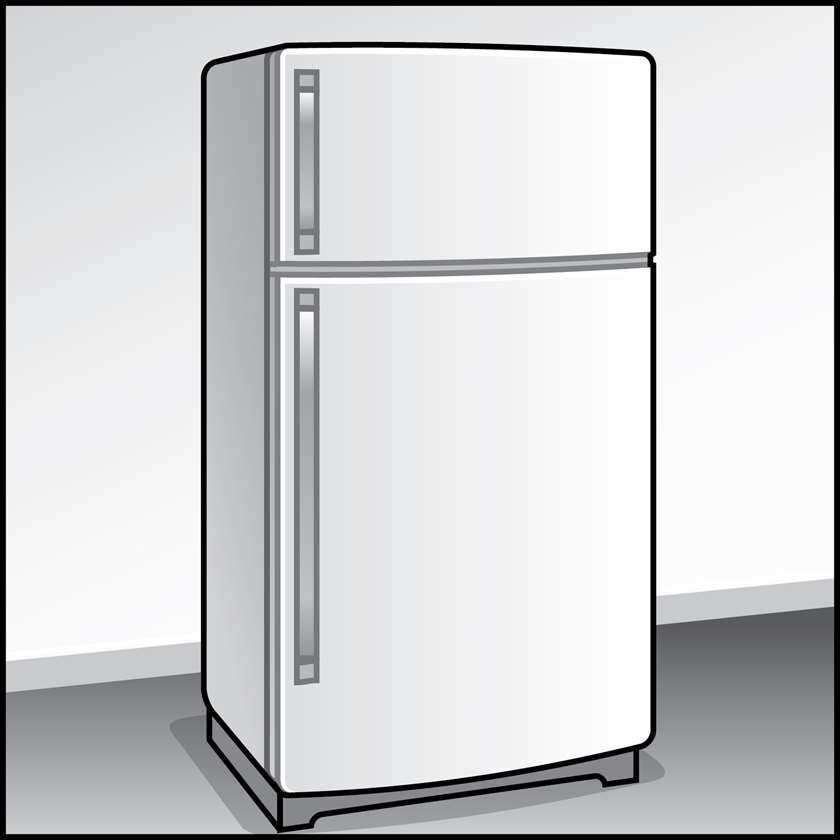 An illustration of a Refrigerators