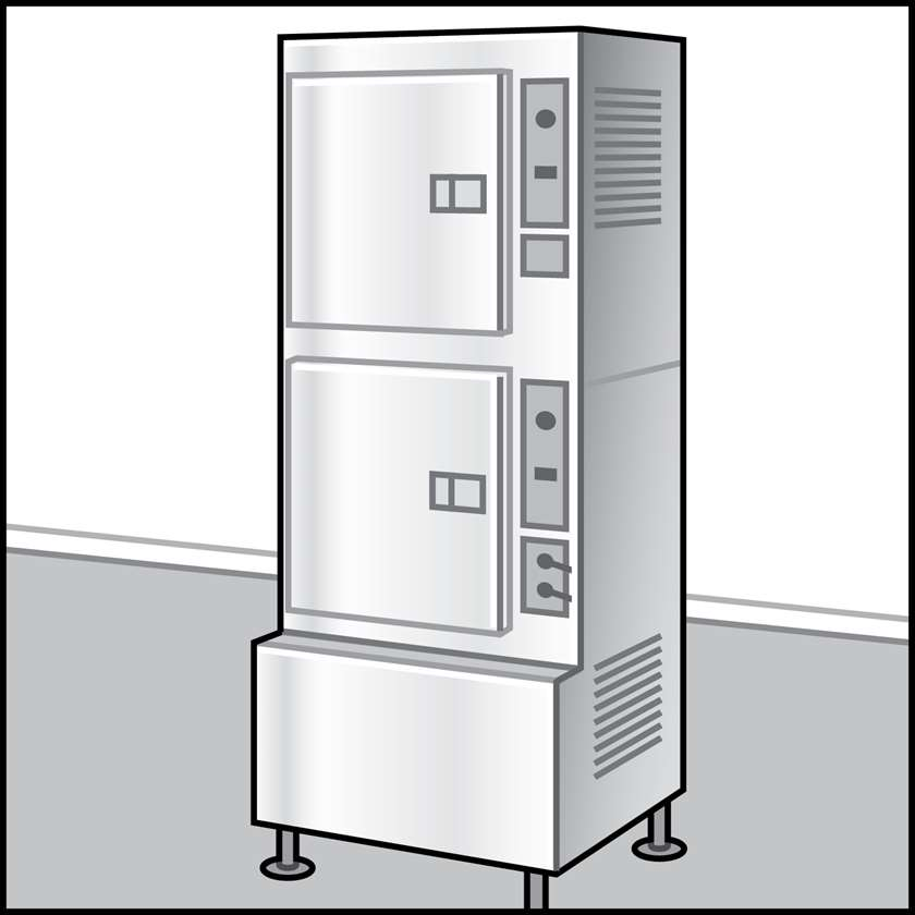 An illustration of a Steam Cookers