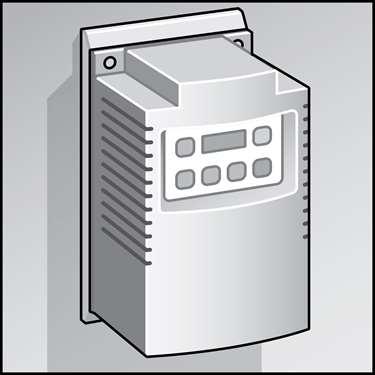 暖通空调设备变频驱动(VFDs)的图示