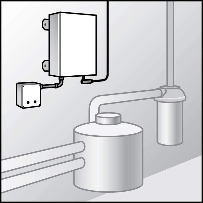An illustration of a Variable Speed Milk Transfer Systems (VSMTs)